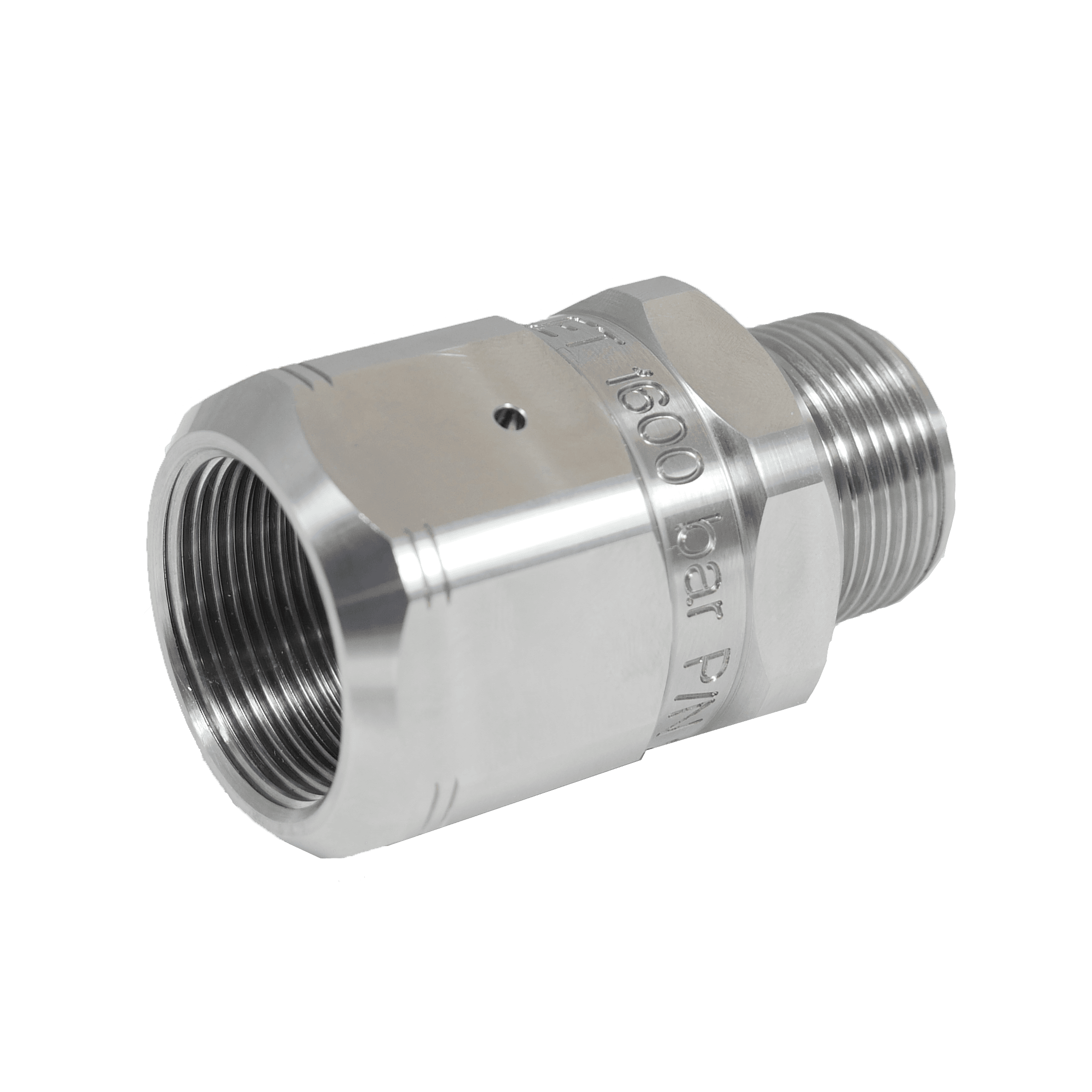 Stainless steel High Pressure Adapter