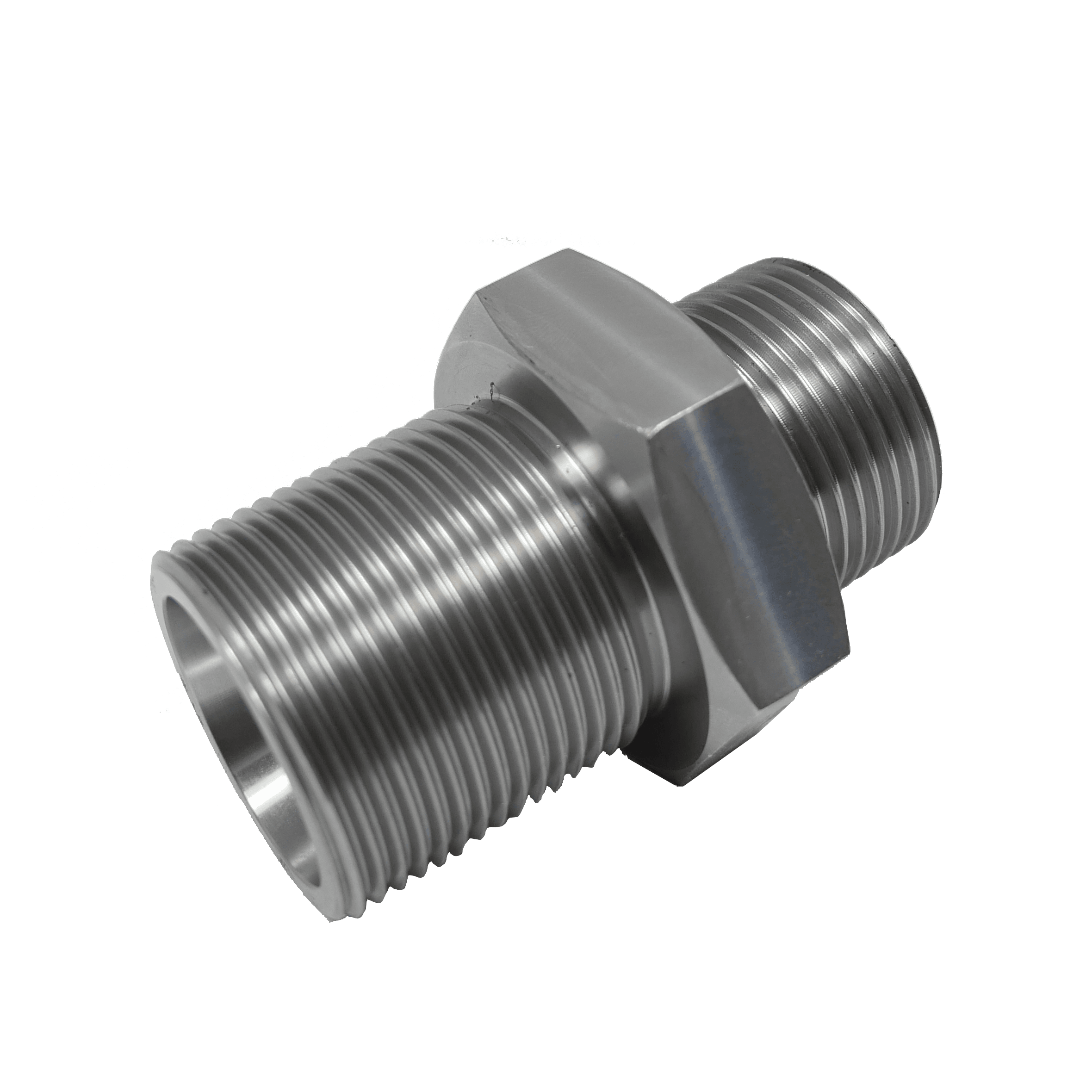 High Pressure Adapters Male-Bsp-Conical-Male-Metric-Conical